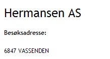 Hermansen AS