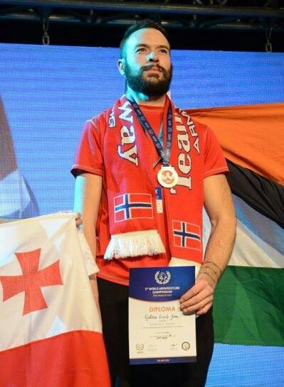 VM i Handicap 2014 Premieutdeling Gull til Jørn